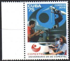 Cuba. 2016. Telecommunications. MNH.