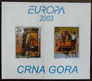 MONTENEGRO - BLOCK 2003 - MNH - PRIVATE ISSUE! crna gora yugoslavia J8