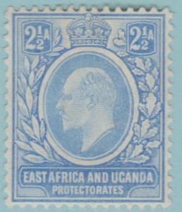 East Africa & Uganda 4 Postfrisch mit Scharnier Og Kein Fehler Extra Fein