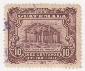 Guatamala, Sc # 239, Used, 1929, Columbus Theater