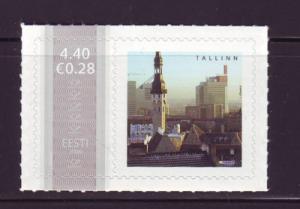 Estonia Sc 546 2006 Posthorns Tallinn stamp NH