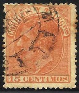 Spain 1882 Scott# 252 Used