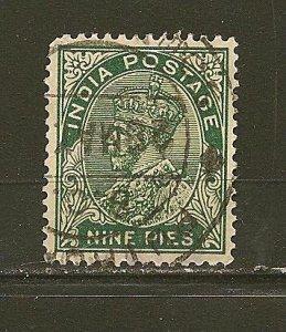 India 135 King George V  Used
