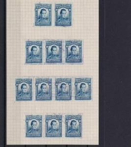 COLOMBIA 1917 10c   STAMPS STUDY   REF 5365
