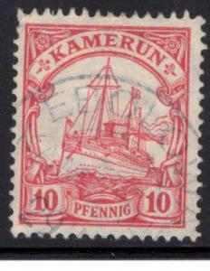 German Cameroon / Kamerun #22, Ebolwoa Type 1 cancel (CV €20)