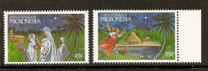 Micronesia 104-105 MNH