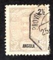 Angola 1898 King Carlos 2 1/2 Overprint