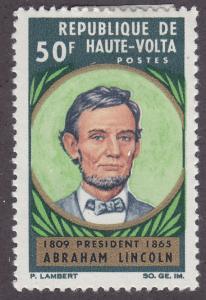 Burkina Faso 144 Abraham Lincoln 1965