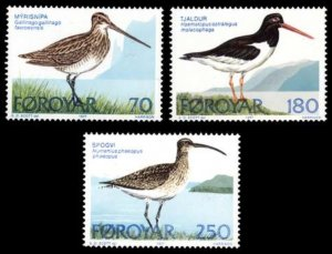 Faroe Islands MNH 28-30 Birds 1979
