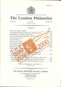 The London Philatelist: Vol. 109, Number 1275,