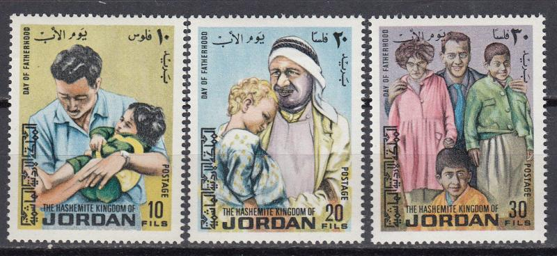Jordan - 1973 Father's Day Sc# 726/728 - MNH (1004)