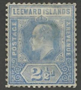 Leeward Islands # 43 Edward VI -  2½d.   (1)  Unused