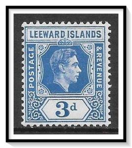 Leeward Islands #125 KG VI MH