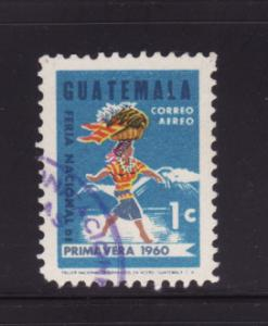 Guatemala C270 Set U Woman Carrying Fruit Basket (B)