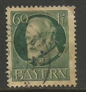 GERMANY BAVARIA 107 VFU 164C-4