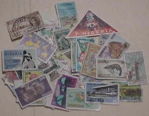 NIGERIA   STAMPS 90 DIFF. USED