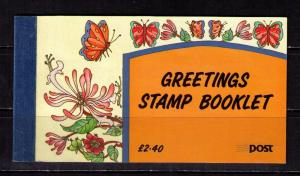 IRELAND Sc# 863a - 863b MNH FVF Booklet Compl Greetings