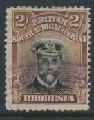 British South Africa Company / Rhodesia  SG 273 Used perf 14 see scans & details