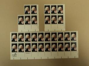 USPS Scott 1952 20c 1981 George Washington 1732-1982 Lot ...