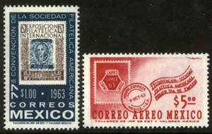 MEXICO 937,C274 Convention of the American Philatelic Soc MINT, NH. VF.