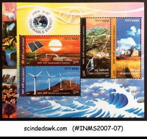 INDIA - 2007 INDIA 2007 RENEWABLE ENERGY - HYDRO POWER BIOMASS M/S MNH