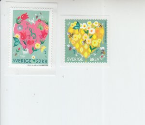 2020 Sweden Greetings (2) SA COILS (Scott NA) MNH