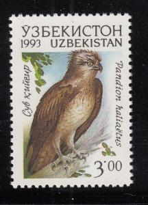 Uzbekistan 1993 MNH Scott #10 3r Pandion haliaetus