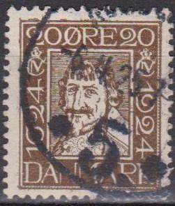 Denmark #173 F-VF Used  CV $7.75 (A12062)