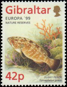 1999 Gibraltar #794-797, Complete Set(4), Never Hinged