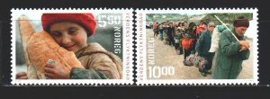 Norway. 2003. 1469-70. International Year of aid to refugees. MNH.