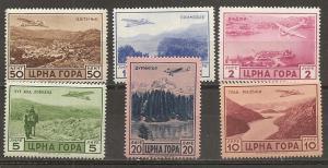 Montenegro Italian Occupation 2NC18-23 set NH