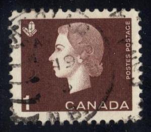 Canada #401 Queen Elizabeth II and Crystal, used (0.20)
