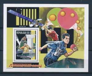 [54622] Guinea 2003 Olympic games Athens Tabletennis MNH Sheet