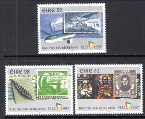 Ireland 1082-1084 Stamp on Stamp MNH VF