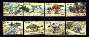 Nauru 556-63 MNH 2006 Prehistoric Animals