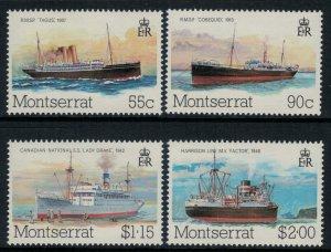Montserrat #539-42* NH  CV $2.20