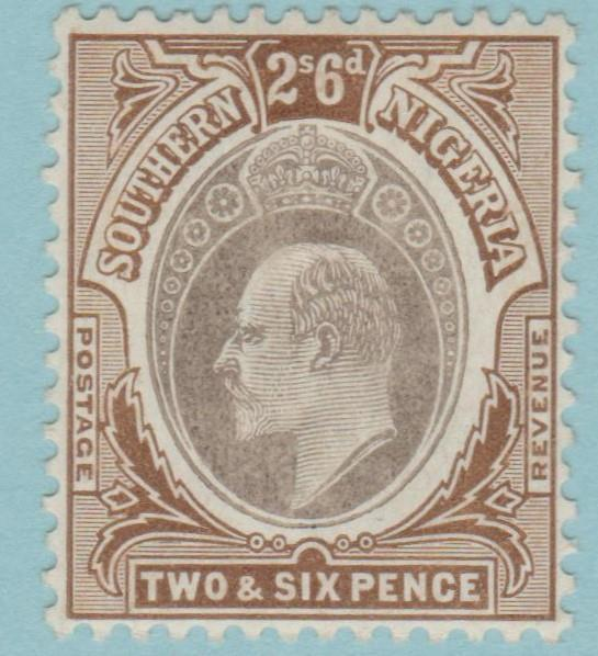Southern Nigeria 28 Mint Hinged OG* NO FAULTS VERY FINE !