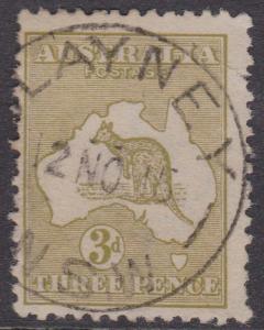 Australia - 1913 3d Roo Fine Used Sc. #5