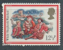 Great Britain  SG 1202 SC# 1006 Used / FU with First Day Cancel - Christmas 1982
