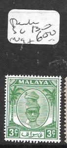 MALAYA  PERAK  (PP2505B)  SULTAN 3C  SG 130   MOG