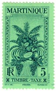 Martinique Scott J26 (1933: Air Post Semi-Postal - Tropical Fruit)