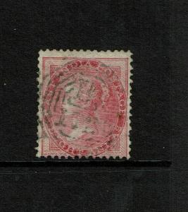 Straits Settlements SG# Z78 India 8a Rose Used Singapore - S7456