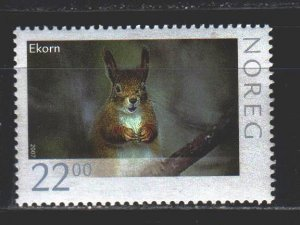Norway. 2007. 1603. Squirrel fauna. MNH.