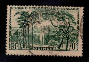 FRENCH GUINEA Scott 144 Used 1940 stamp