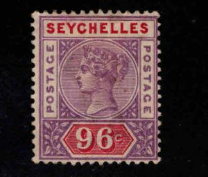 Seychelles Scott 18 MH*  96 Queen Victoria CV $72.50 Nice color and centering,
