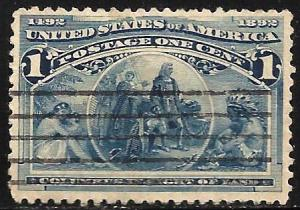 United States 1893 Scott # 230 Used