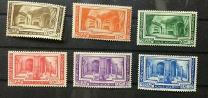 Vatican City Sc# 55-60 MH (Mint Hinged) Complete Set 1938