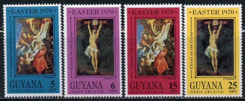 Guyana MH 110-3 Easter 1970