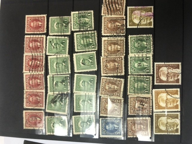 W.W. Small Stamp Stock  Book Lots Of Very Old Stamps Might Find Some Gems