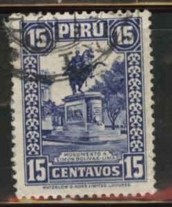 Peru  Scott 311 Used